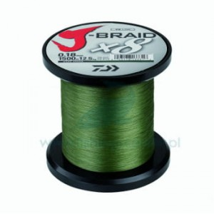 Plecionka Daiwa J-Braid x8 1500m 0,18mm
